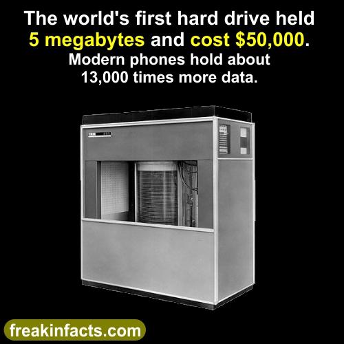 first hard drive